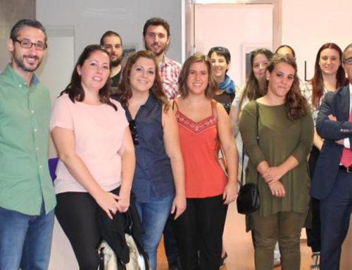 El pasado día 5 de octubre nos visitarón en nuestras instalaciones de Córdoba Lanzahara